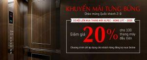 THANG MÁY ALPEC HOME LIFT – 2020